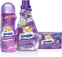 Get the most out of your laundry with Snuggle<sup>®</sup>