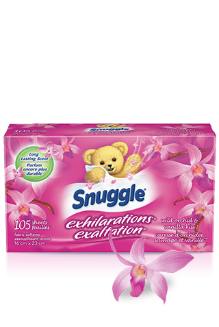 Feuilles Snuggle® Exhilarations® Wild Orchid & Vanilla Kiss®