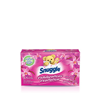 Snuggle® Exhilarations® Wild Orchid and Vanilla Kiss® Sheets