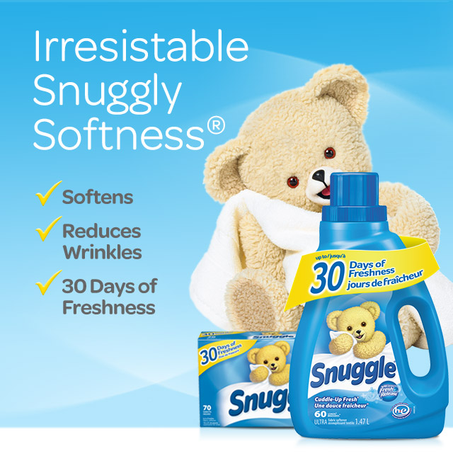 picture regarding Snuggle Coupons Printable called Household Snuggle Material Softener