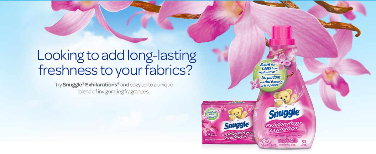 Ready to put a good mood in the air? Try Snuggle Exhilaration.