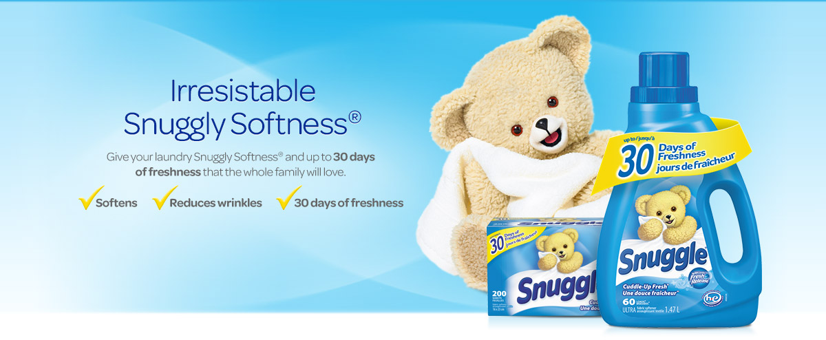 Snuggle Softness is here!